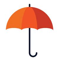 icon ô che mưa