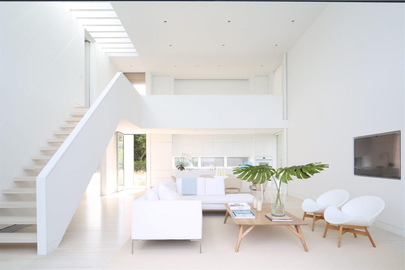 Sơn nhà màu trắng hoàn hảo