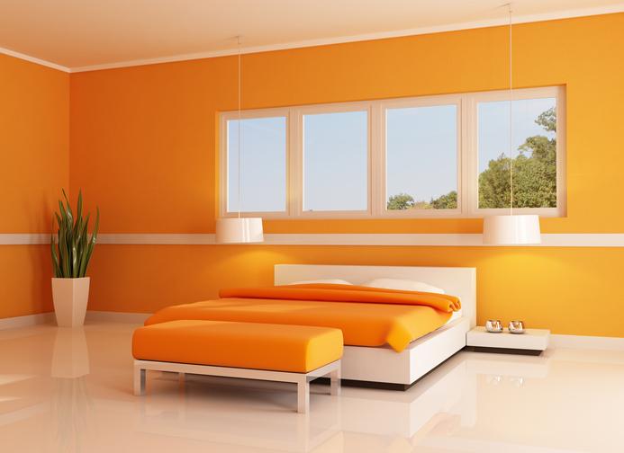 Thêm phần tinh tế và sang trọng với gam màu cam nhẹ nhàng