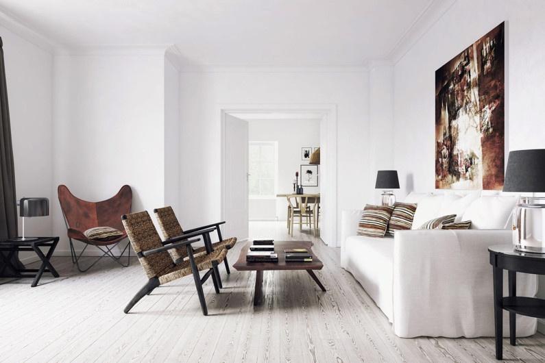 tư vấn sử dụng màu trắng cho mọi không gian nhà ở