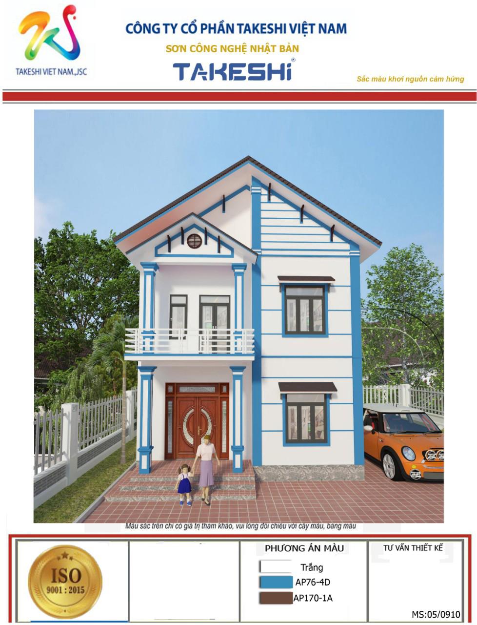 Công trình sử dụng sơn Takeshi