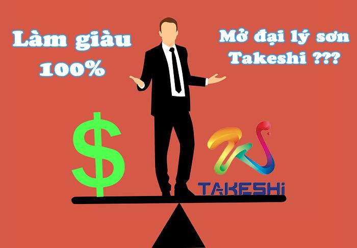 cơ hội thành công khi mở đại lý Takeshi